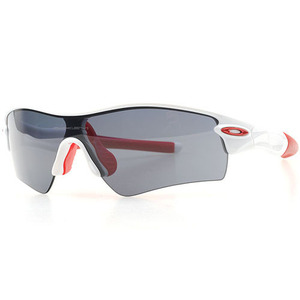 [OAKLEY] 오클리 스포츠선글라스 Radar Path Pearl White/Grey(Red Icon, Red Sock)