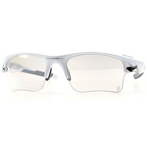 [OAKLEY] 오클리 스포츠선글라스 Fast Jaket XL Photocromic Polished White/Clear Black (변색)